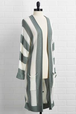three stripes you`re out cardigan