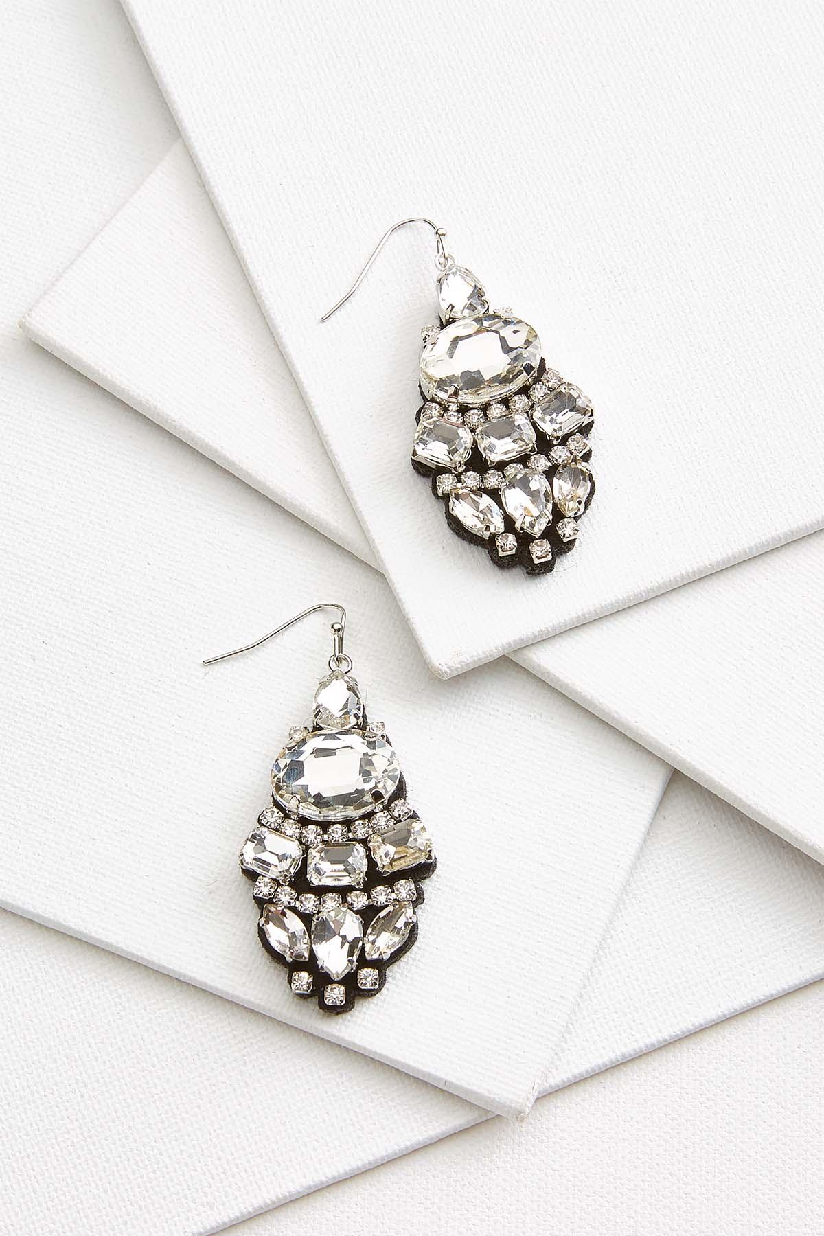 Shiny Holiday Earrings