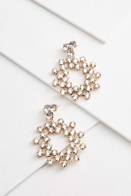 cluster burst earrings