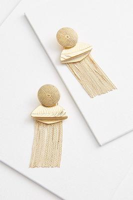 it`s all golden earrings