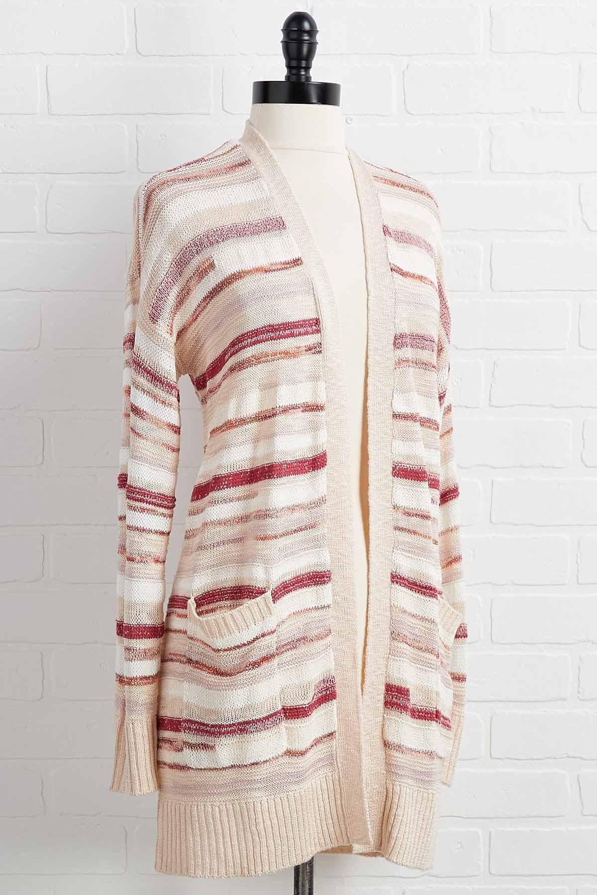 Baked Clay Cardigan