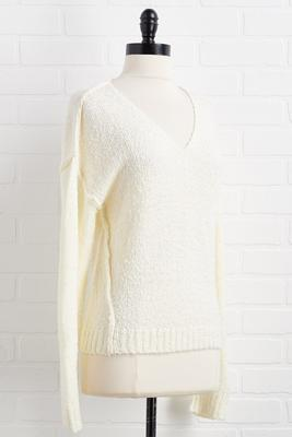 snow queen sweater