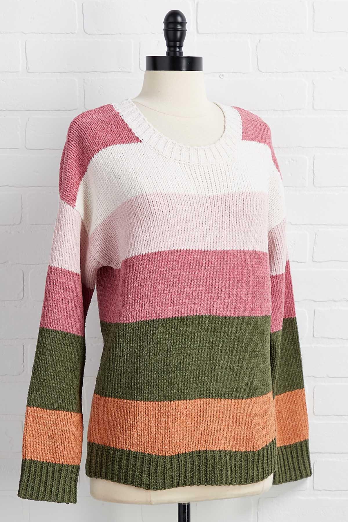 Side By Side Sweater