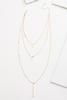 Shiny Silver Pendant Necklace