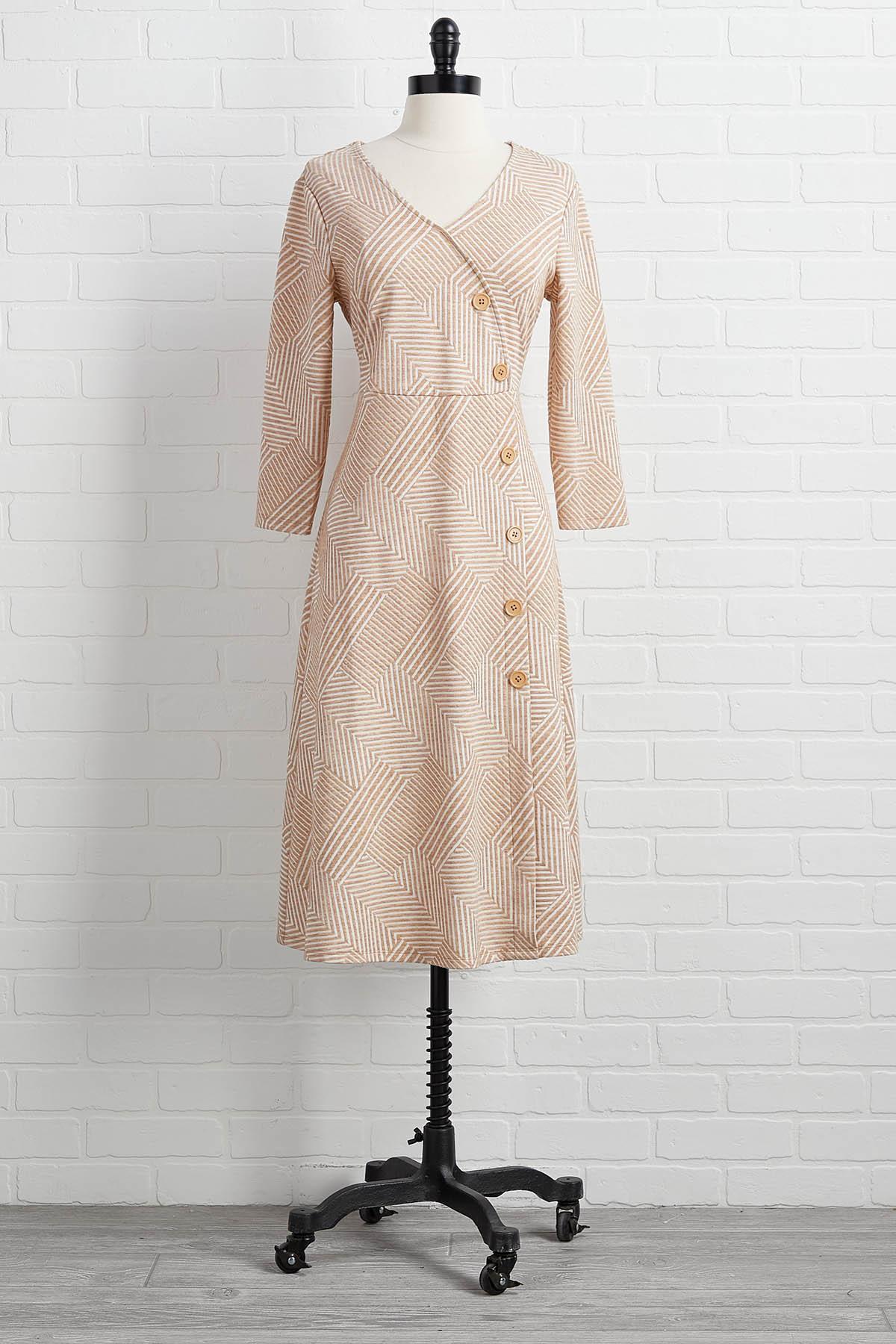 Somewhere In The Midi Dress