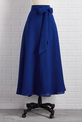 wintertime blues skirt