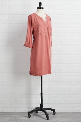 you`re a gem shirt dress
