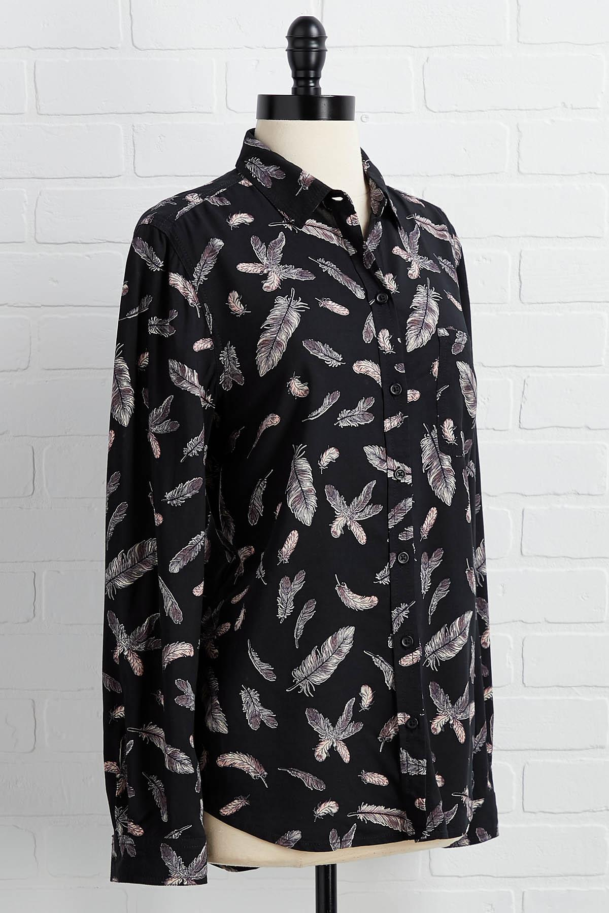 Feather Or Not Top