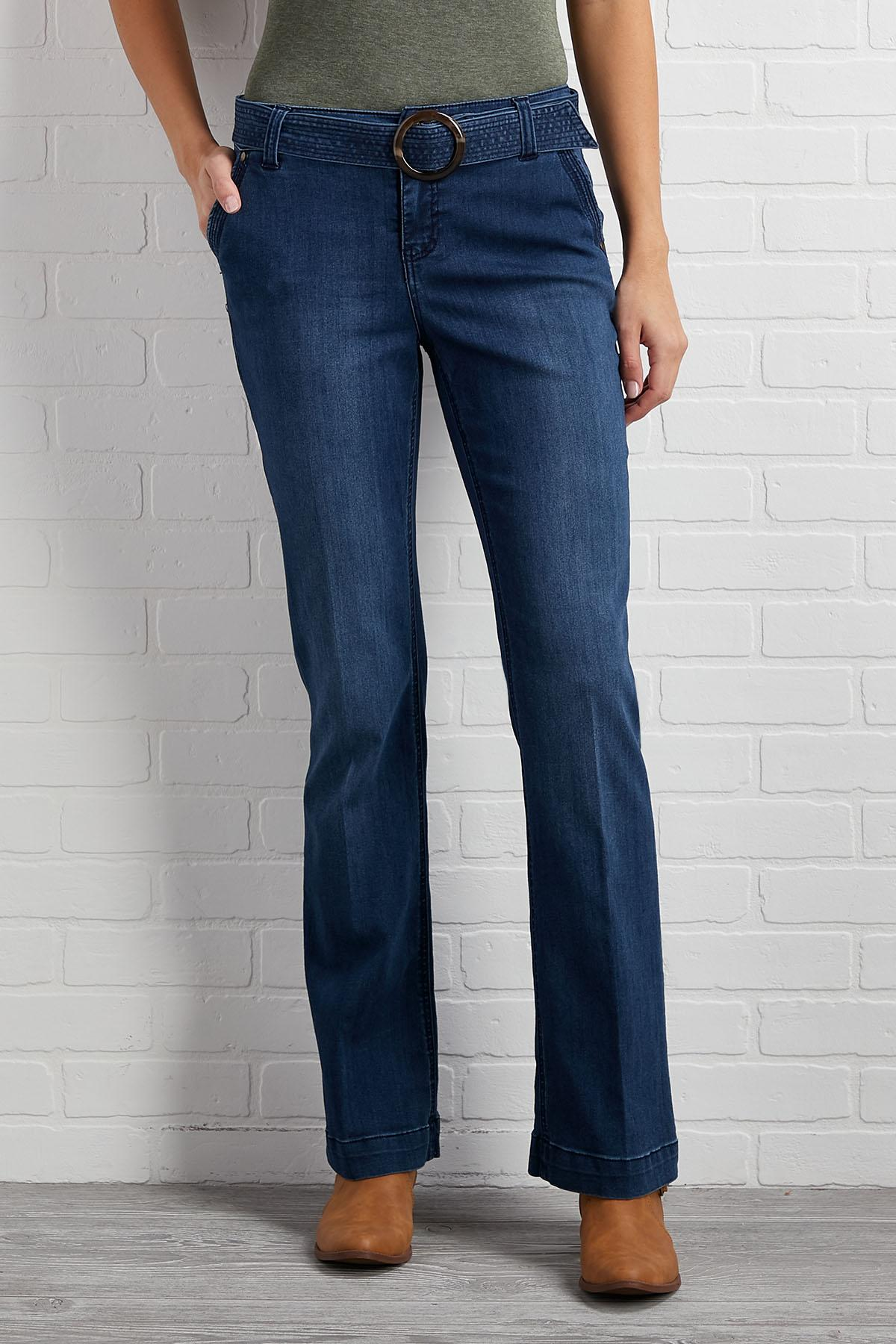 Throwback Wide Leg Jeans