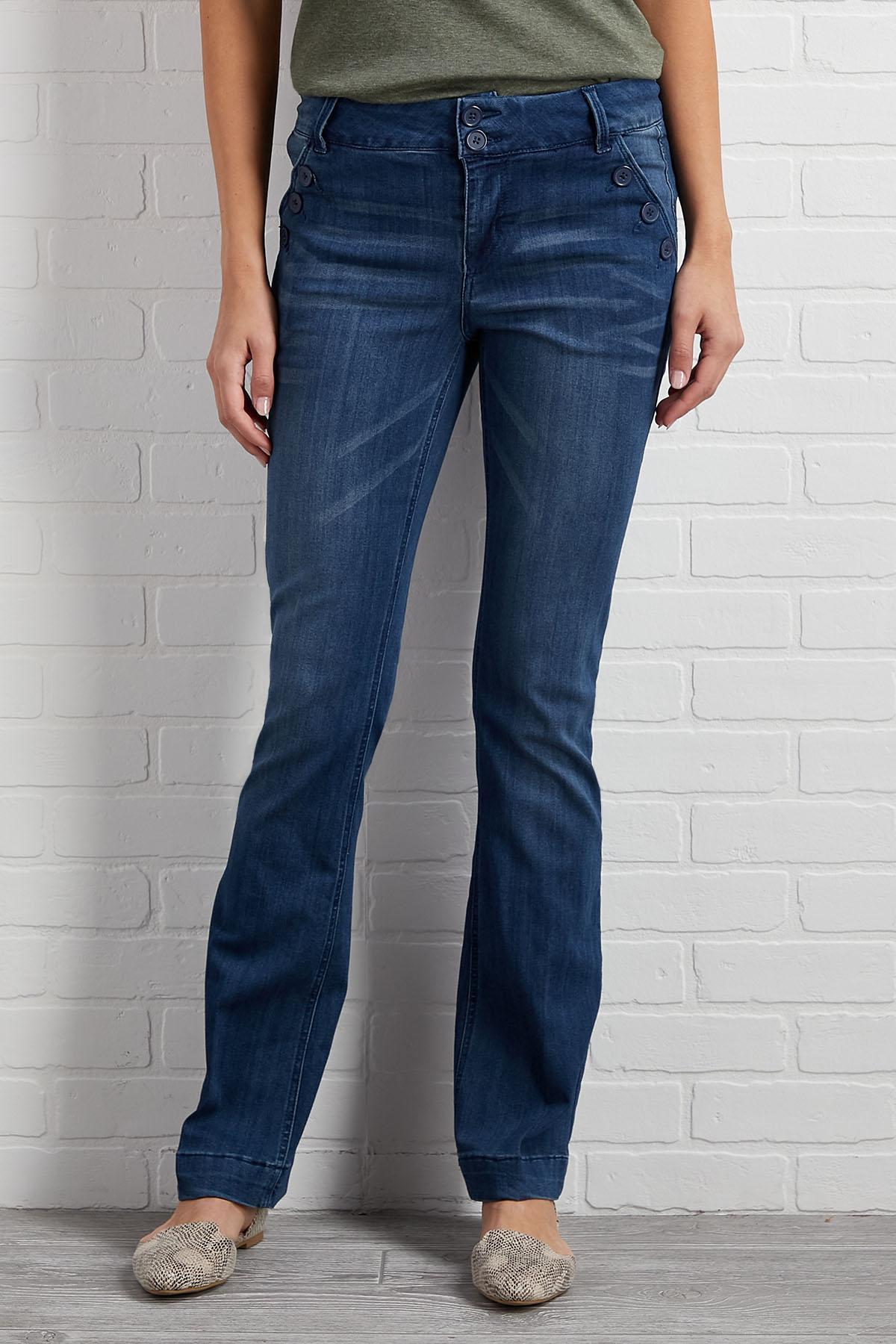 Wide Leg Sailor Jeans