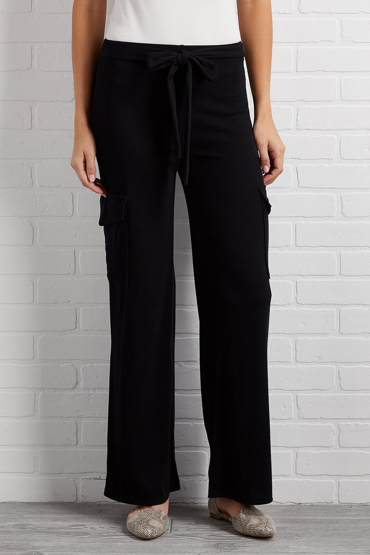 Ties Wide Open Pants