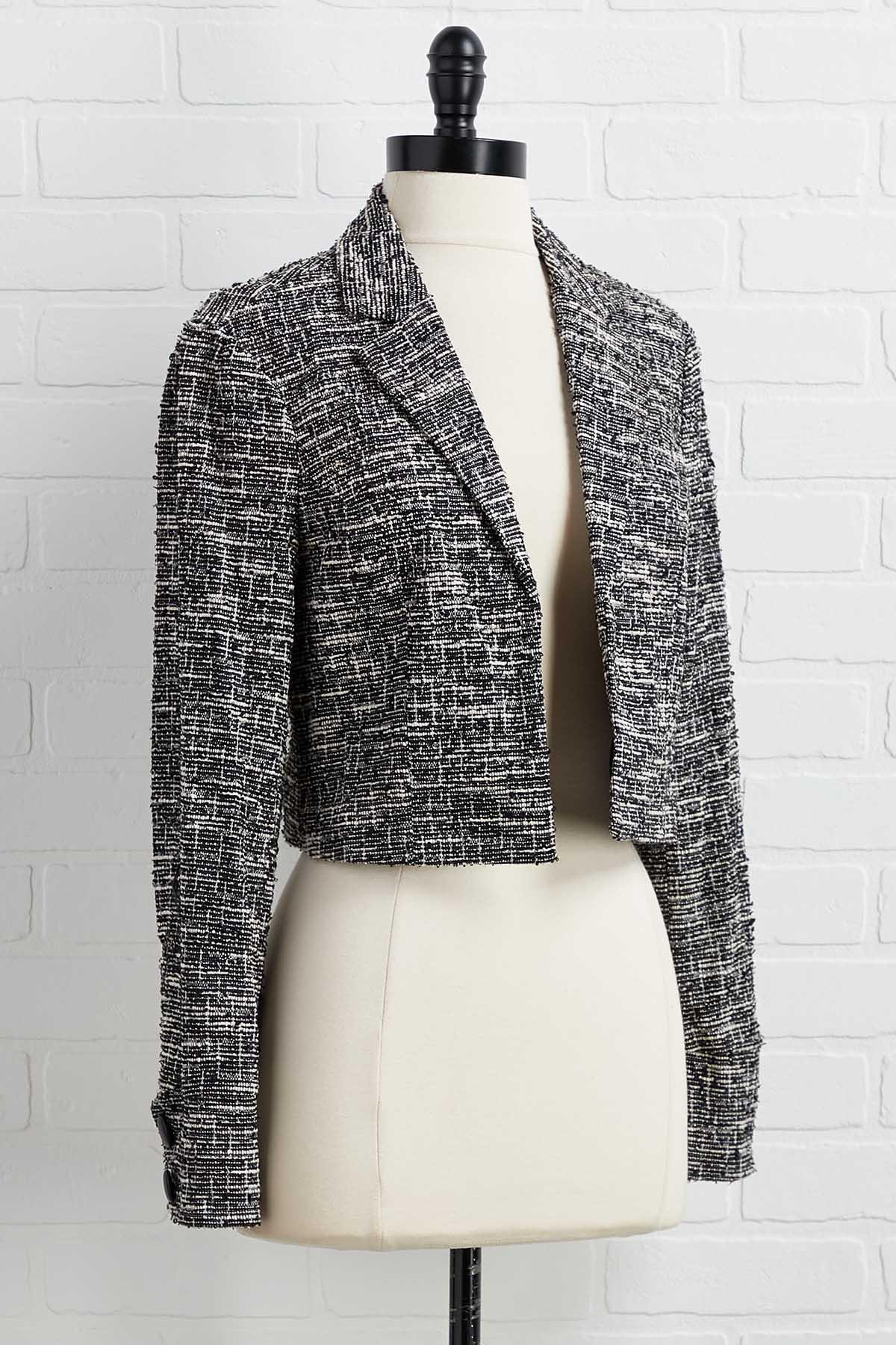 Just What I Tweed Jacket