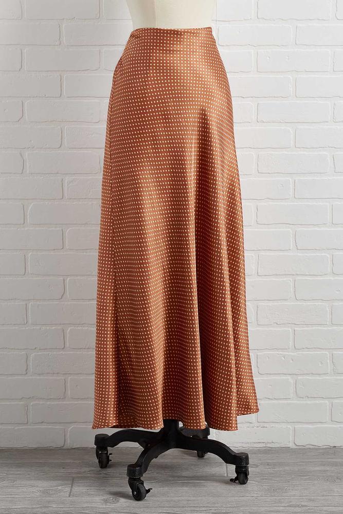 Getting Dot In Here Skirt