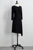 Little Black Asymmetrical Dress