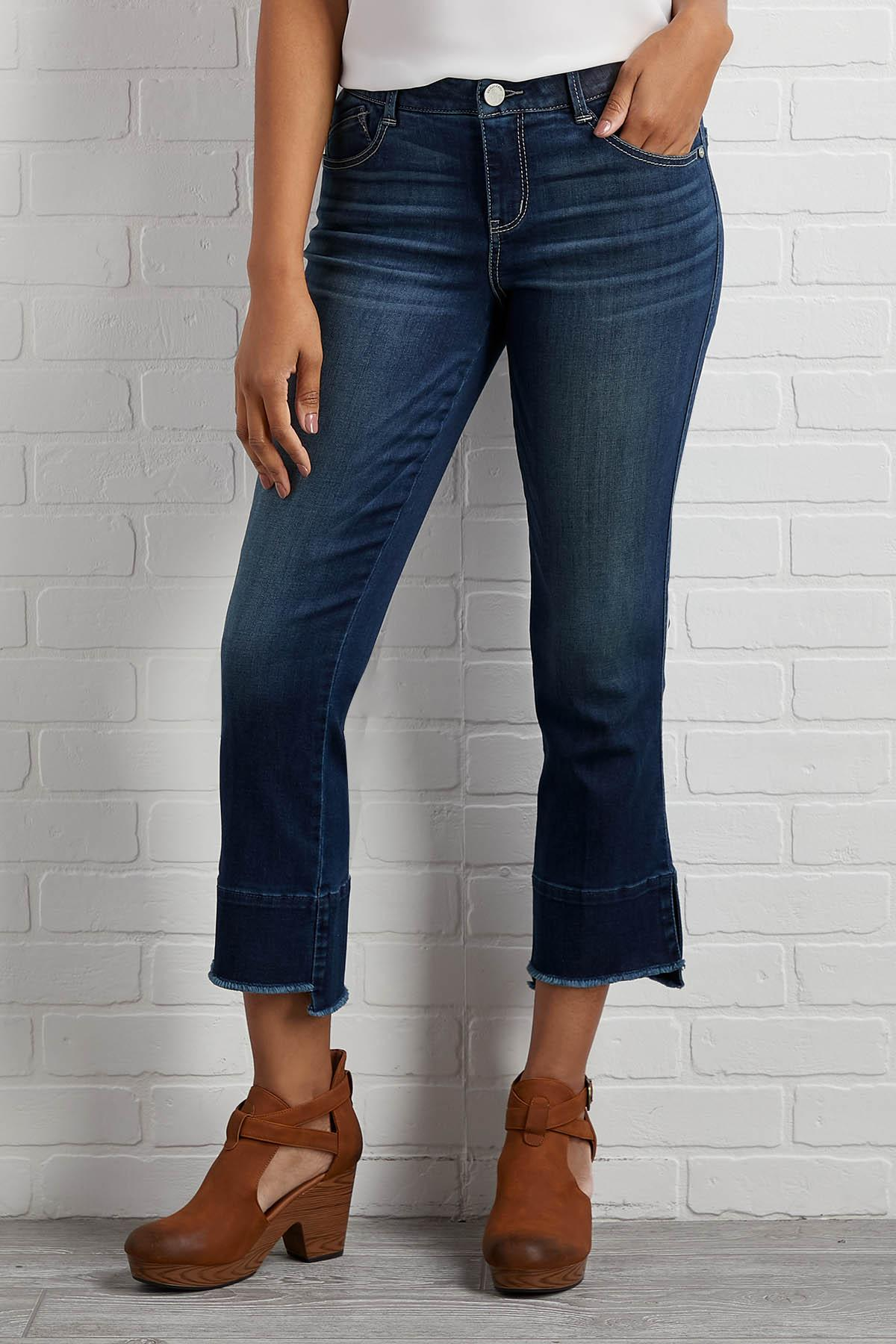 For A Slit Second Jeans