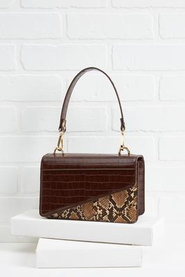 snake a statement bag