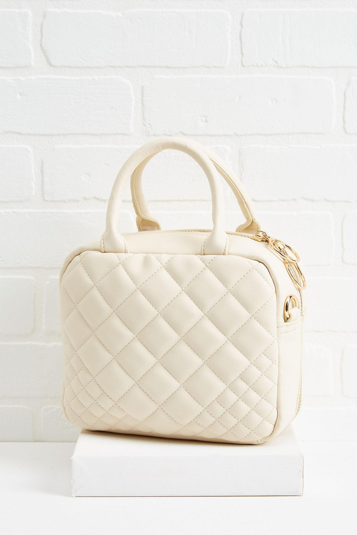 Quilted Box Bag