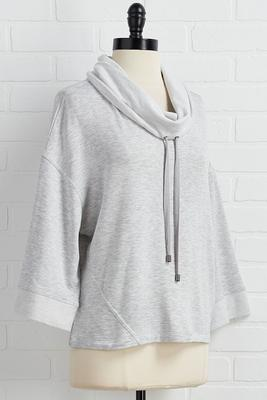 go casual fleece pullover