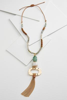 statement pendant necklace