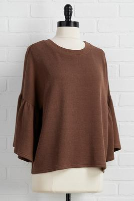bell sleeves ring top