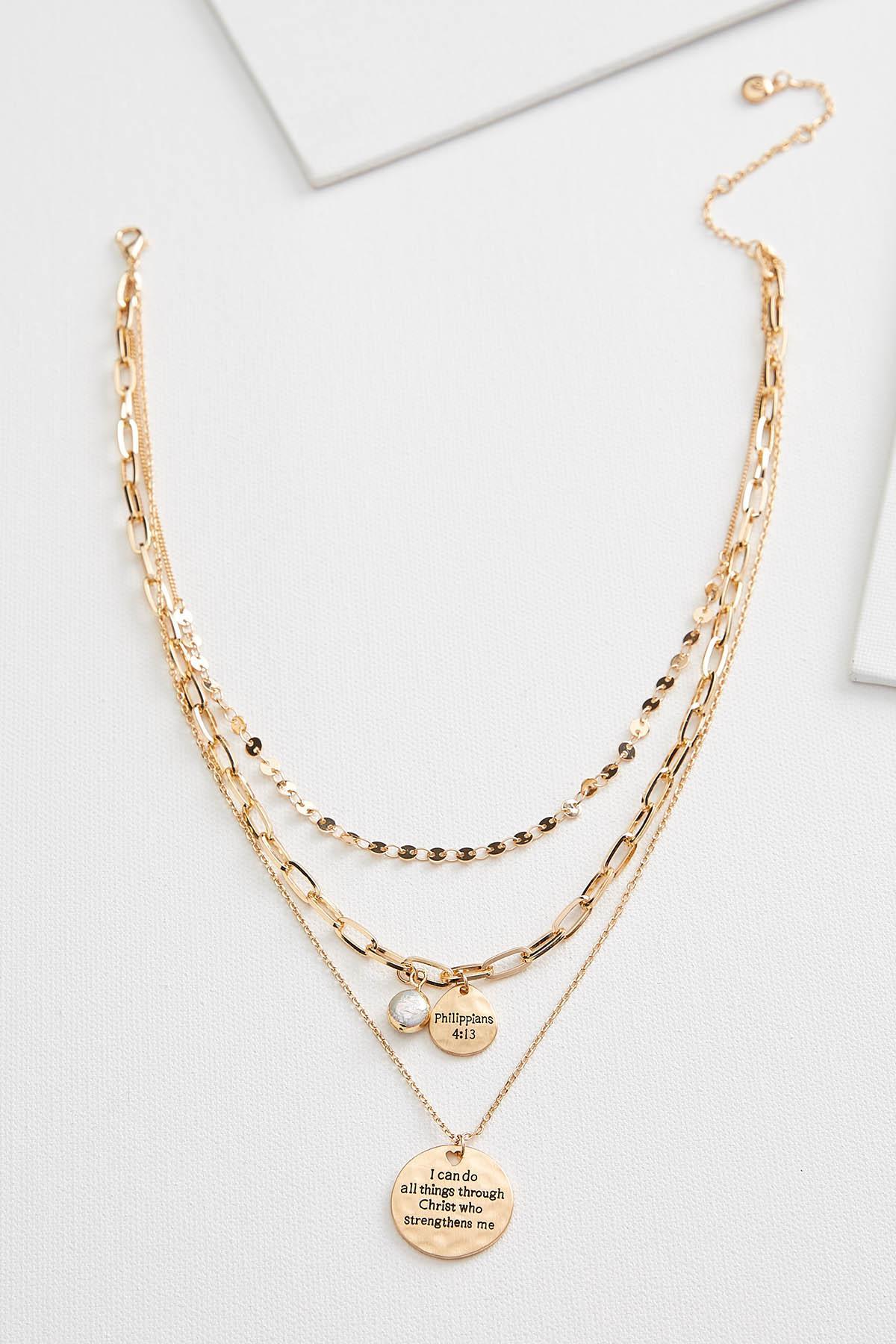 Versona Faith Pendant Necklace