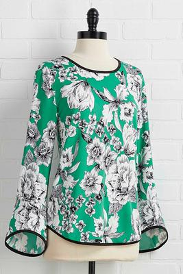floral for spring top
