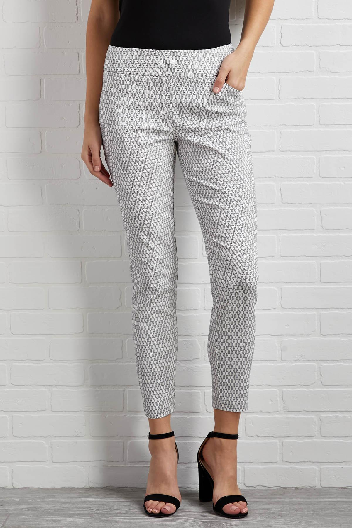 Web Of Lies Ankle Pants