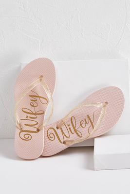 wifey flip-flops