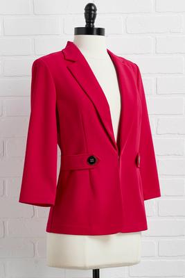 woman`s world blazer