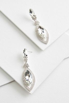 cat eye bling earrings