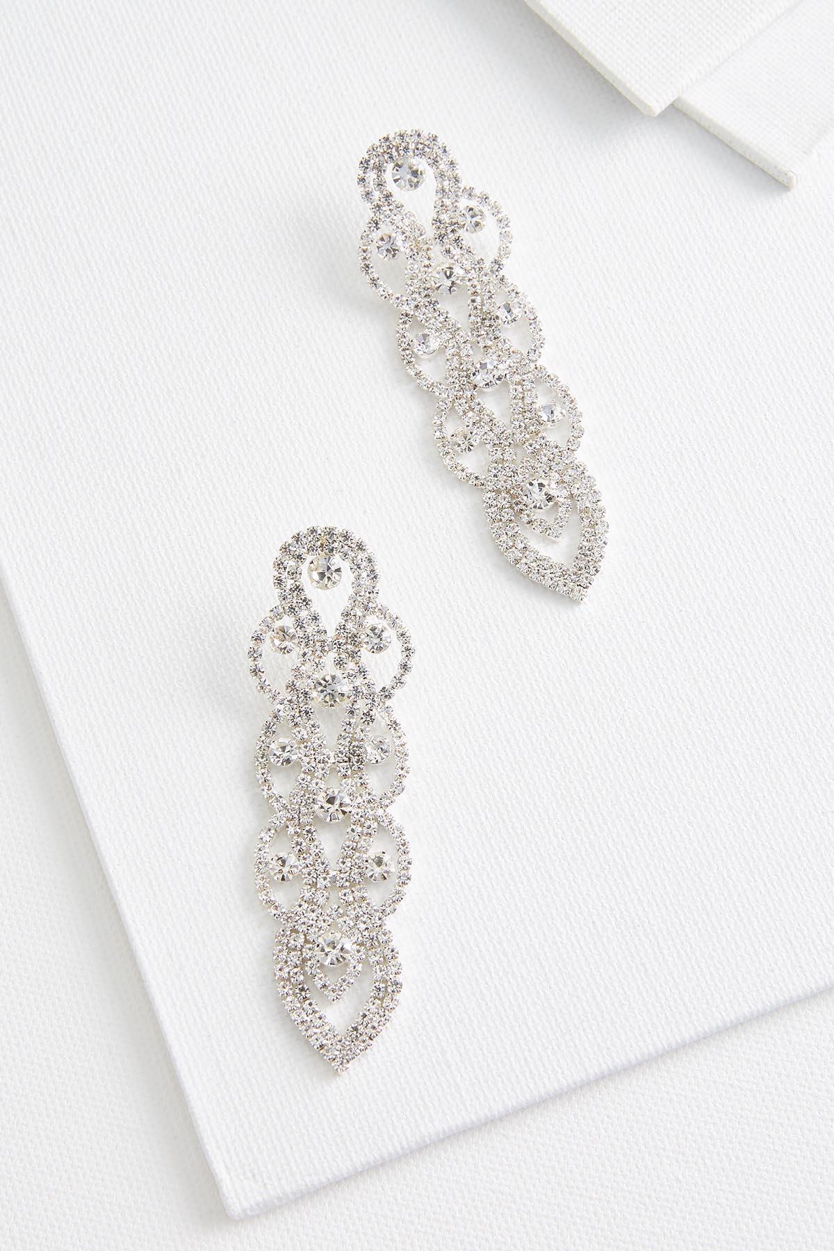 Woven Chandelier Earrings