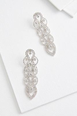 woven chandelier earrings