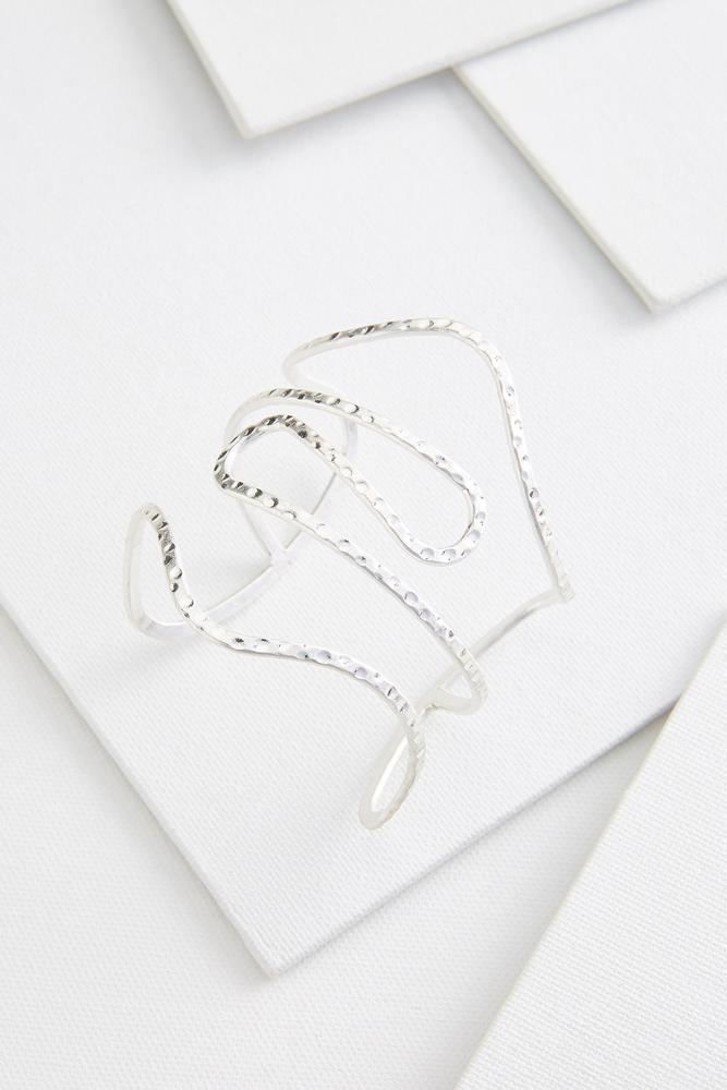 Wide Open Cuff Bracelet