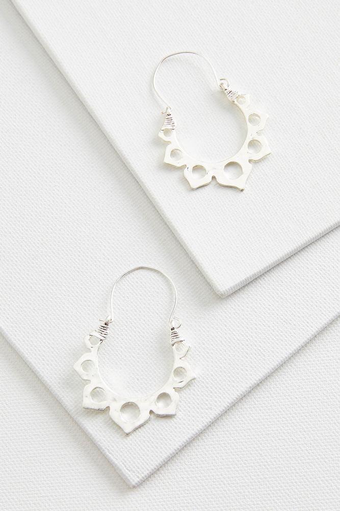 Artisan Metal Earrings