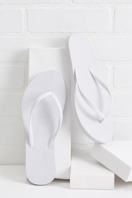 summer solid flip-flops