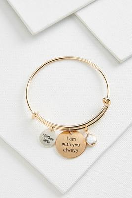 with you always bangle