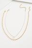 Pearl Pendant Chain Necklace