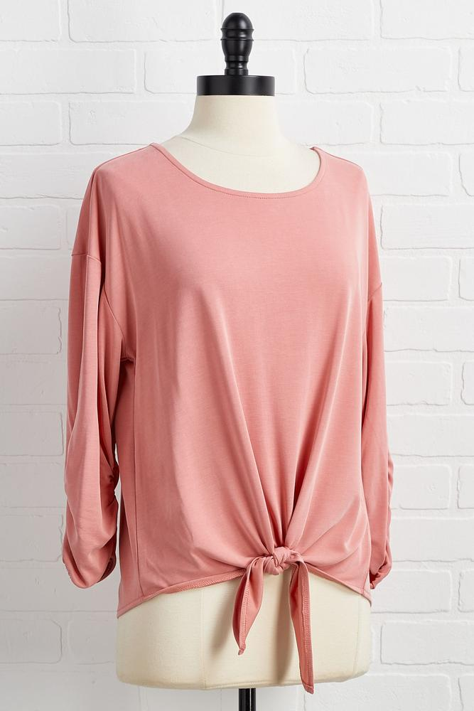 Knot In The Mood Top