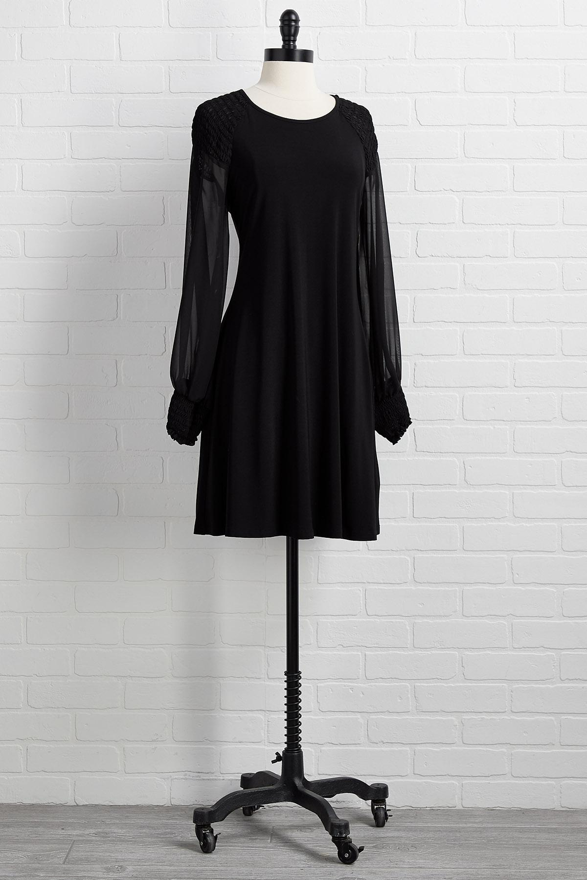 Sheer For A Good Time Dress