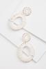 Woven Oval Earrings