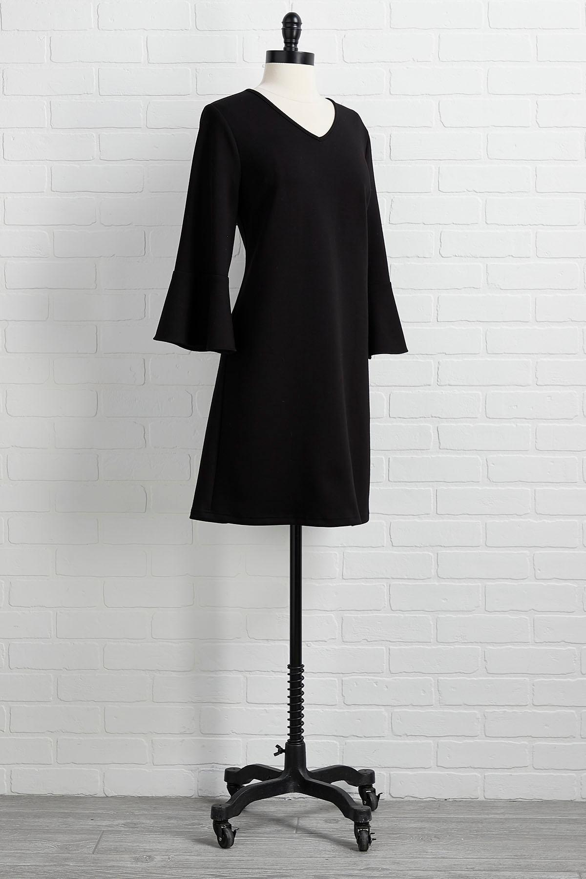 Little Black Shift Dress