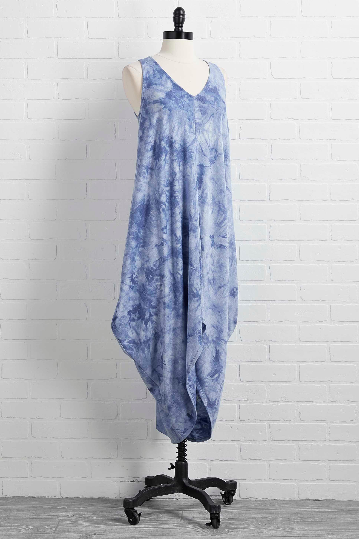 Clear Blue Waters Dress