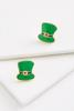 Leprechaun Hat Earrings