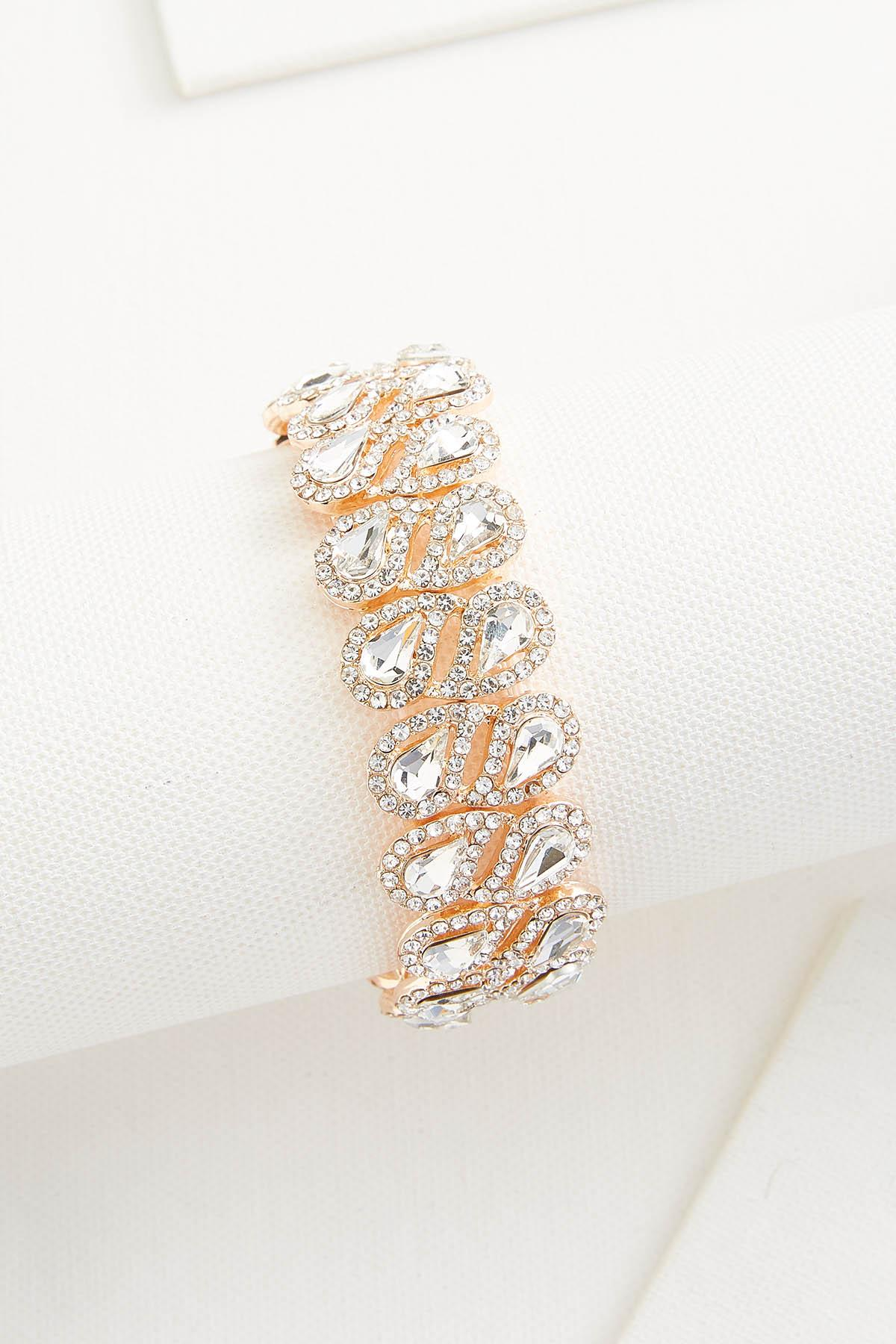 Tear Stone Stretch Bracelet