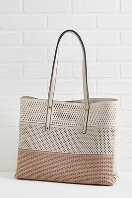 the perf-ect tote