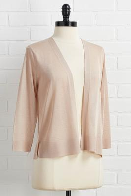 sheer and now cardigan