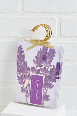 lavender vanilla sachet set
