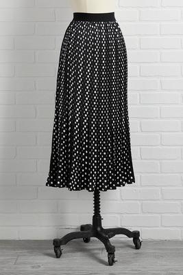dot you on my mind skirt