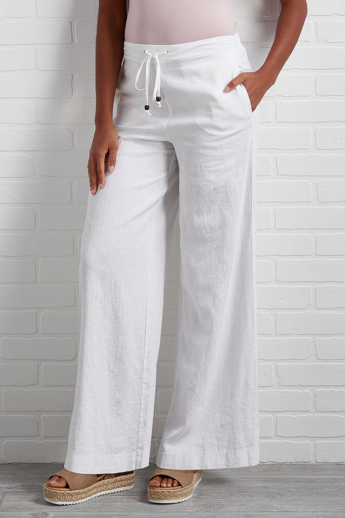 Beach Babe Linen Pants