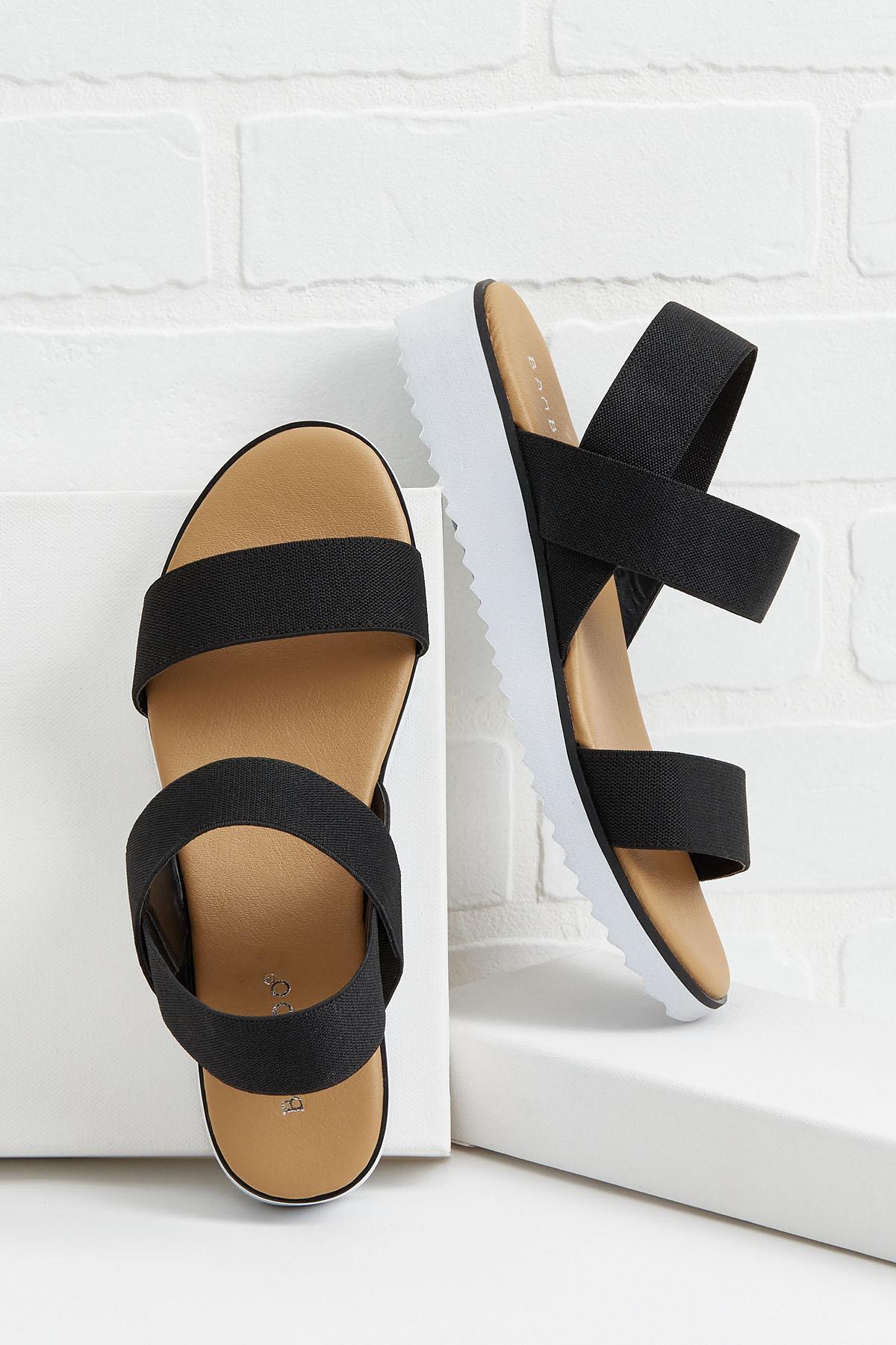 Bit Of A Stretch Sandals